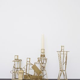'Drawn Candlesticks' by Fabien Cappello, 2012. Photography by Petr Krejci