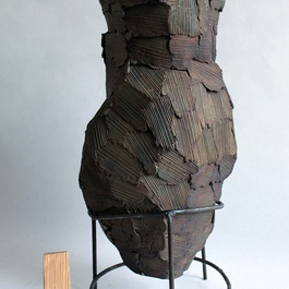 'Wooden Vase B' by Peter Marigold, 2011. Courtesy Perimeter Art & Design