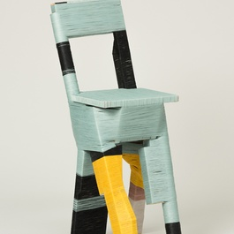 'The Thread Wrapping Machine Chair 1' by Anton Alvarez, 2013. Photography by Paul Plews