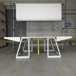 'Transformers' dining table by Nicolas Le Moigne
