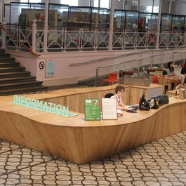 Information Desk by Peter Marigold at the V&A Museum of Childhood