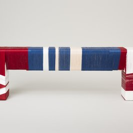 'Thread Wrapping Machine Bench 1' by Anton Alvarez. Photography by Paul Plews