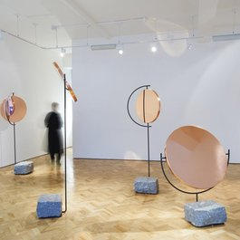 'The Copper Mirror Series' by Hunting & Narud, 2013. Photography by Gideon Hart