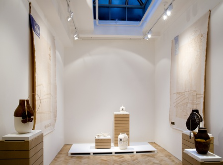 <p>Moulding Tradition, Colony and Botanica. Formafantasma at Gallery Libby Sellers. Photograph by Patrick Fetherstonhaugh</p>
