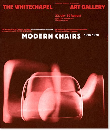 <p style=&#34;text-align: justify;&#34;>Modern Charis: 1918-1970, Whitechapel Art Gallery, 1970. Exhibition catalogue. Design by Richard Hollis</p>