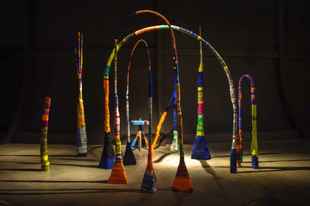 <p>Gallery Libby Sellers. Anton Alvarez's Design at Large installation. Design Miami/ Basel 2014.</p>