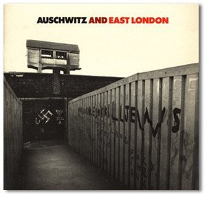 <p>Auschwitz and East London. Tower Hamlets Arts Project. Design by Richard Hollis. 1983</p>