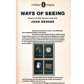 <p>Ways of Seeing, John Berger. Design by Richard Hollis. 1972</p>